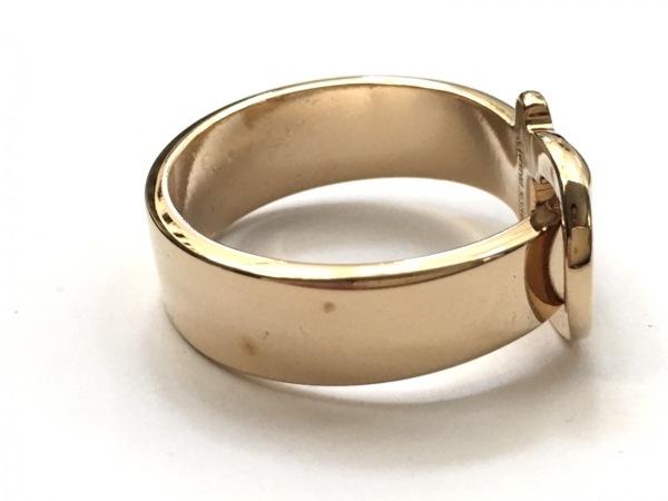サルバトーレフェラガモ スカーフリング美品  - 金属素材 ゴールド 3