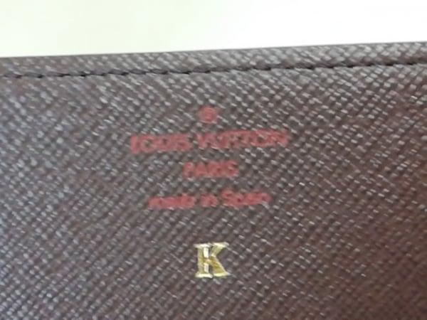ルイヴィトン カードケース ダミエ N62920 エベヌ イニシャル刻印 4