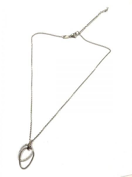 ヴァンドーム青山 ネックレス美品  金属素材×ラインストーン 2