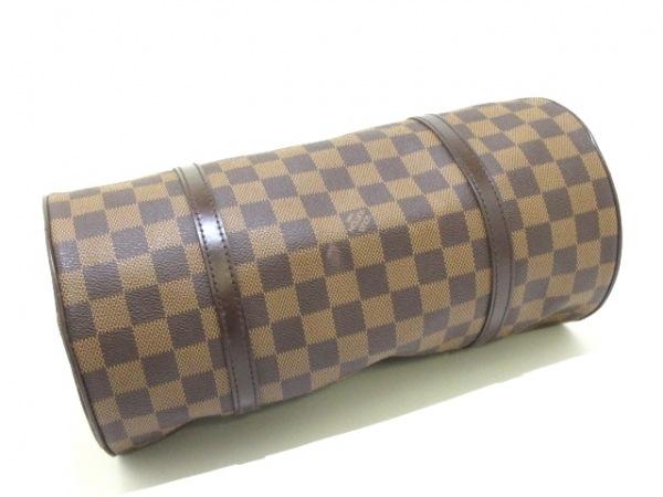 ルイヴィトン ハンドバッグ ダミエ パピヨン30 N51303 エベヌ ダミエ・キャンバス