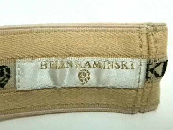 ヘレンカミンスキー サンバイザー ベージュ ラフィア 5