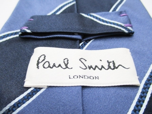 PaulSmith(ポールスミス) ネクタイ メンズ ネイビー×グレーネイビー 3