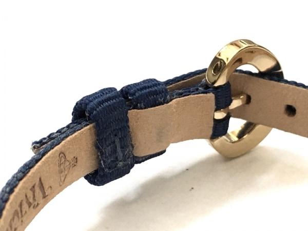 ヴィヴィアン 腕時計美品  レディース アイボリー×ゴールド 5