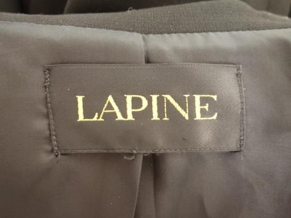 LAPINE(ラピーヌ) レディースパンツスーツ レディース 黒 3