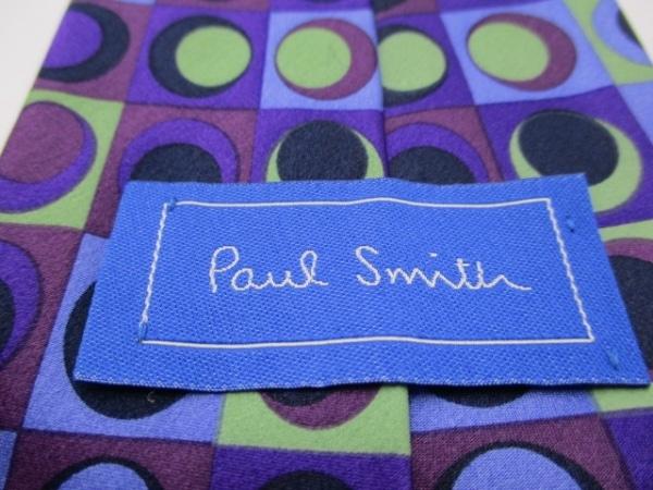 PaulSmith(ポールスミス) ネクタイ メンズ パープル×マルチ 3