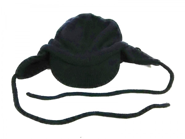 アディダスバイステラマッカートニー ニット帽美品  黒 1