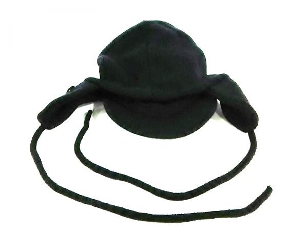 アディダスバイステラマッカートニー ニット帽美品  黒 2