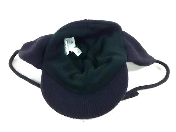 アディダスバイステラマッカートニー ニット帽美品  黒 3