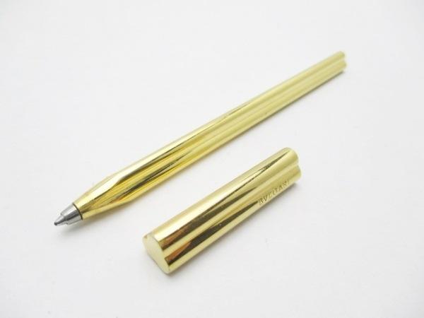 BVLGARI(ブルガリ) ボールペン ゴールド インクあり(青) 金属素材 1