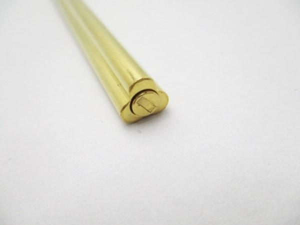 BVLGARI(ブルガリ) ボールペン ゴールド インクあり(青) 金属素材 6