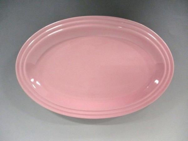 LE CREUSET(ルクルーゼ) プレート新品同様  ピンク 陶器 1