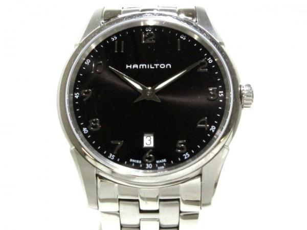ハミルトン 腕時計 ジャズマスターシンライン H385111 メンズ 黒 1