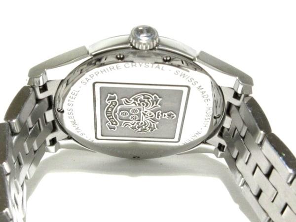 ハミルトン 腕時計 ジャズマスターシンライン H385111 メンズ 黒 3