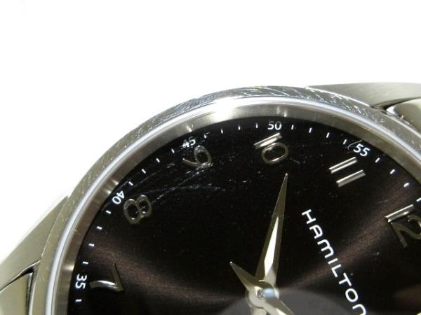 ハミルトン 腕時計 ジャズマスターシンライン H385111 メンズ 黒 9
