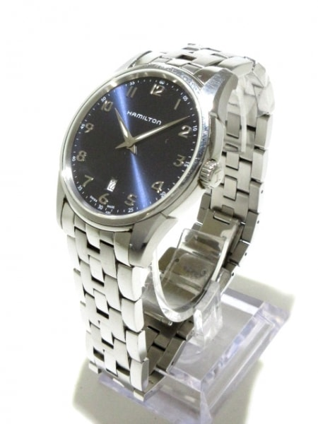 ハミルトン 腕時計 ジャズマスターシンライン H385111 メンズ 黒 2