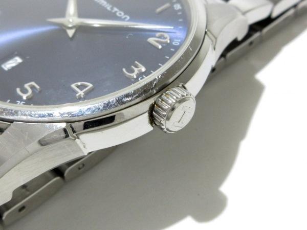 ハミルトン 腕時計 ジャズマスターシンライン H385111 メンズ 黒 7