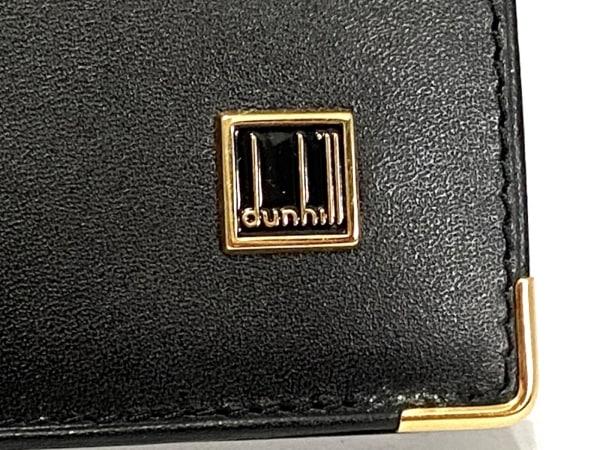 dunhill/ALFREDDUNHILL(ダンヒル) 札入れ美品  黒 レザー 5