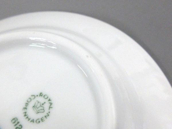 ロイヤルコペンハーゲン カップ&ソーサー新品同様  白×ブルー 陶器 5