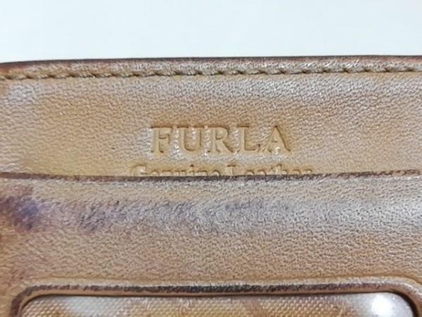 FURLA(フルラ) パスケース ブラウン レザー 4