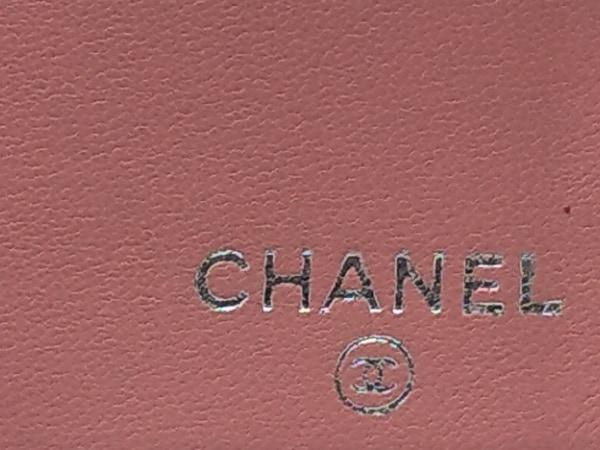 CHANEL(シャネル) 長財布 カメリア ピンク ラムスキン 5
