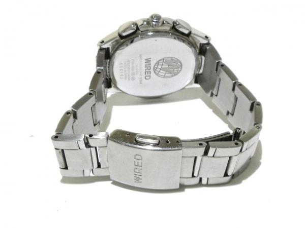 WIRED(ワイアード) 腕時計 7T92-0GB0 メンズ クロノグラフ 黒 3