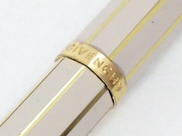 ジバンシー ボールペン - ベージュ×ゴールド インクなし 金属素材 2