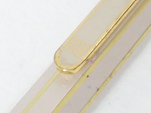 ジバンシー ボールペン - ベージュ×ゴールド インクなし 金属素材 4