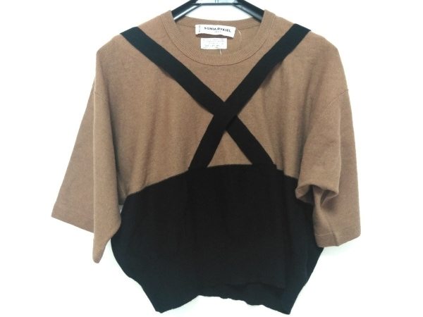 SONIARYKIEL(ソニアリキエル) 半袖セーター サイズ38 M レディース 1