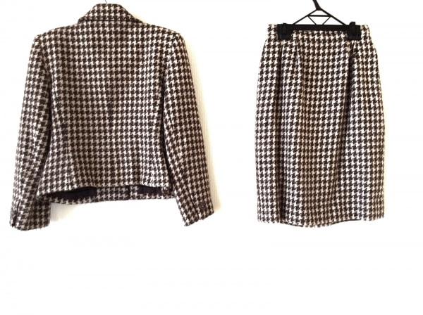 ニナリッチ スカートスーツ サイズ9 M レディース ツイード/千鳥格子 2