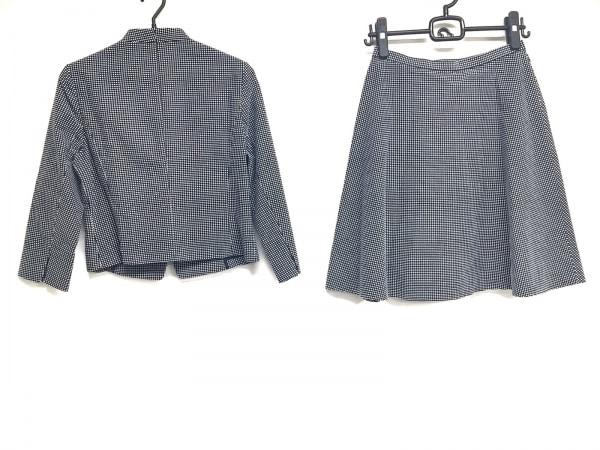 ANAYI(アナイ) スカートスーツ サイズ38 M レディース美品  黒×白 2