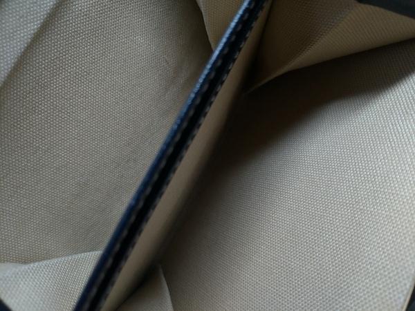 KITAMURA(キタムラ) 3つ折り財布 - 黒×白 がま口 レザー 4