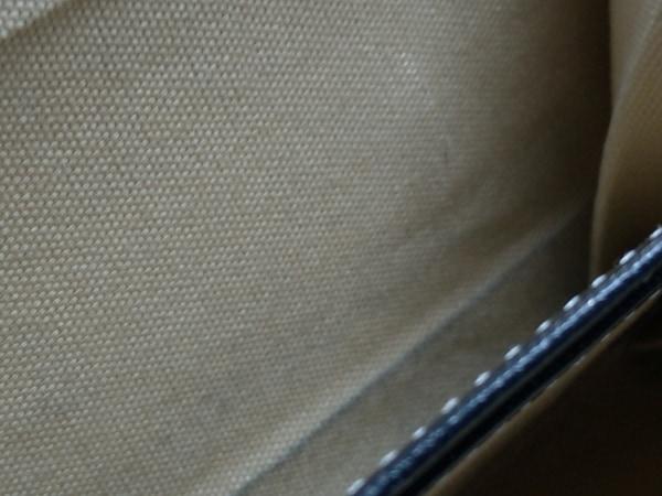 KITAMURA(キタムラ) 3つ折り財布 - 黒×白 がま口 レザー 9