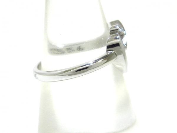 ショーメ リング 52美品  リアンリング K18WG×ダイヤモンド 2