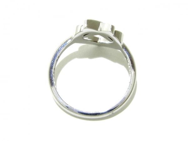 ショーメ リング 52美品  リアンリング K18WG×ダイヤモンド 4