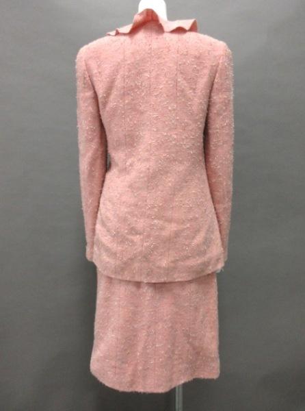 シャネル スカートスーツ サイズ38 M レディース P14314 フリル 3