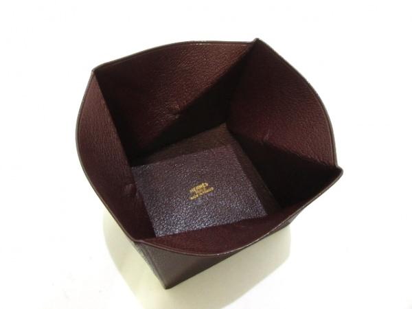 エルメス コインケース美品  ズールー ルージュアッシュ シェーブル 3
