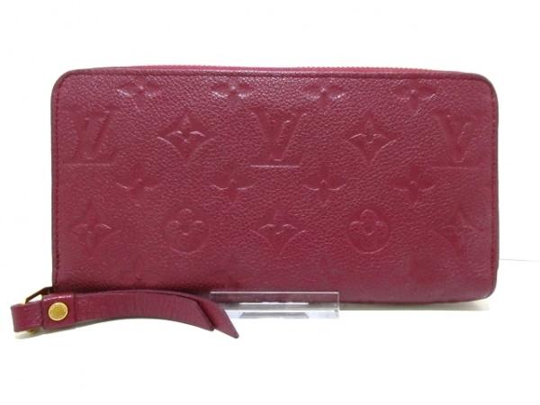 ルイヴィトン 長財布 モノグラム・アンプラント美品  M62214 レザン 1