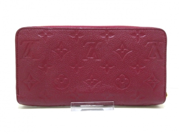 ルイヴィトン 長財布 モノグラム・アンプラント美品  M62214 レザン 2