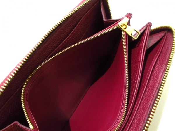 ルイヴィトン 長財布 モノグラム・アンプラント美品  M62214 レザン 4