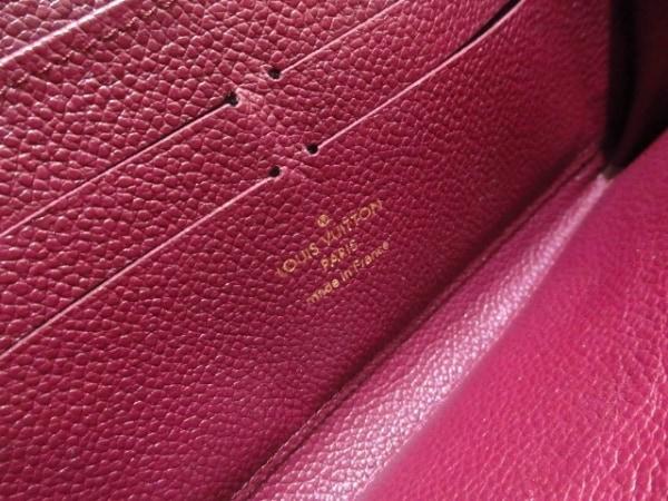 ルイヴィトン 長財布 モノグラム・アンプラント美品  M62214 レザン 5