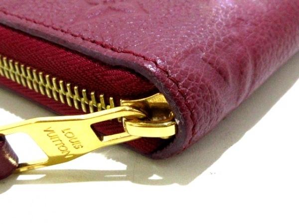 ルイヴィトン 長財布 モノグラム・アンプラント美品  M62214 レザン 6