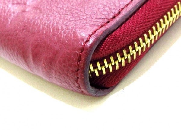 ルイヴィトン 長財布 モノグラム・アンプラント美品  M62214 レザン 7