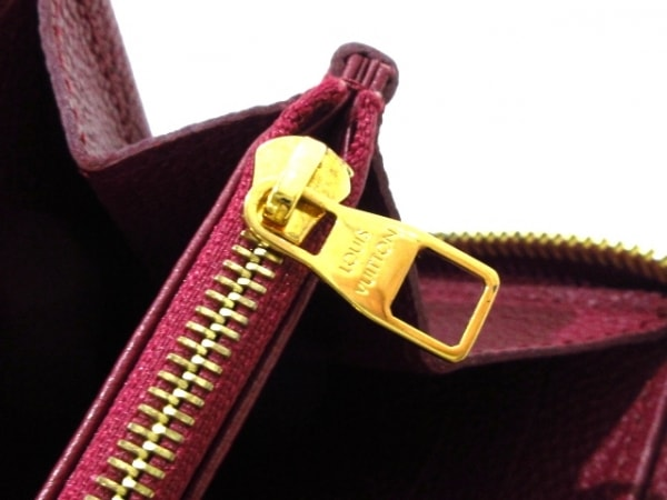ルイヴィトン 長財布 モノグラム・アンプラント美品  M62214 レザン 9