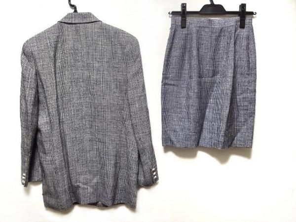 クレージュ スカートスーツ サイズ9AR S レディース 黒×白 2