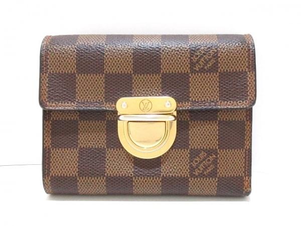 ルイヴィトン 3つ折り財布 ダミエ ポルトフォイユ・コアラ N60005 1