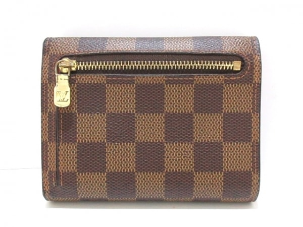 ルイヴィトン 3つ折り財布 ダミエ ポルトフォイユ・コアラ N60005 2