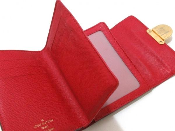 ルイヴィトン 3つ折り財布 ダミエ ポルトフォイユ・コアラ N60005 3