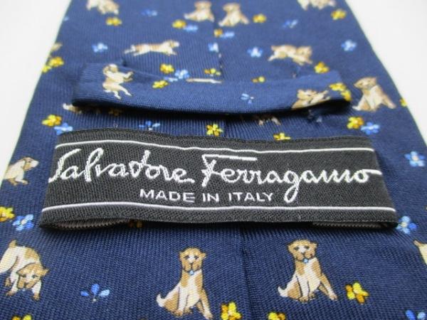 SalvatoreFerragamo(サルバトーレフェラガモ) ネクタイ メンズ 犬 3
