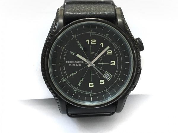 DIESEL(ディーゼル) 腕時計 DZ-1310 メンズ 革ベルト 黒 1