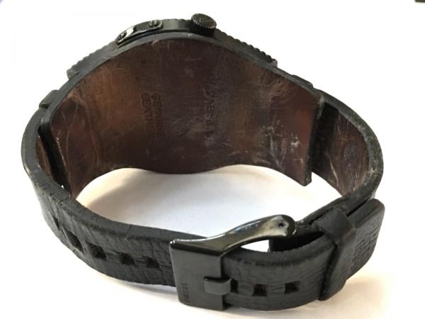DIESEL(ディーゼル) 腕時計 DZ-1310 メンズ 革ベルト 黒 3